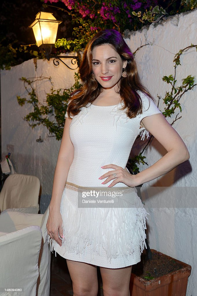 Kelly Brook attends Day 2 of the 2012 Ischia Global Fest on July 9, 2012 in Ischia, Italy.