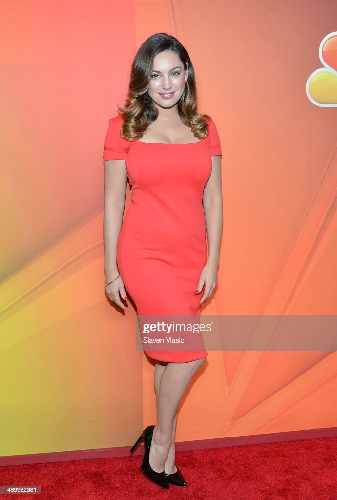 Kelly Brook attends the 2014 NBC Upfront Presentation at The Jacob K. Javits Convention Center on May 12, 2014 in New York City.