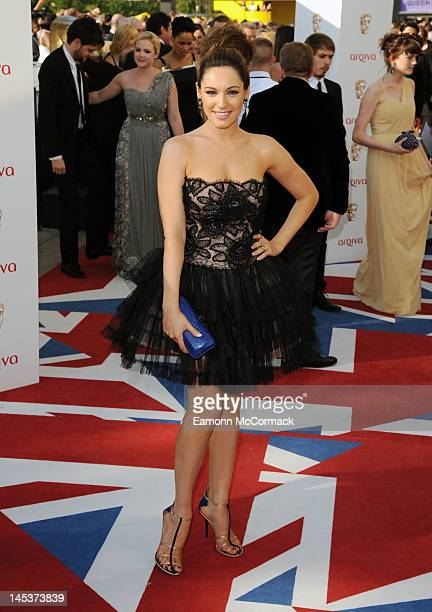 Kelly Brook attends the Arqiva British Academy Television Awards at the Royal Festival Hall on May 27 2012 in London England