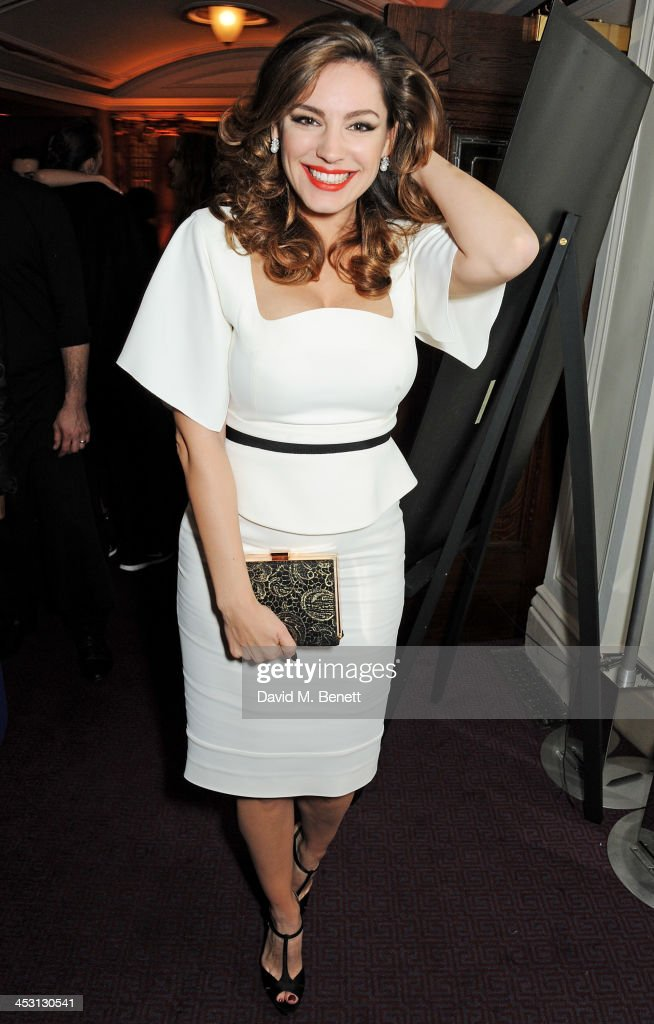 <a gi-track='captionPersonalityLinkClicked' href=/galleries/search?phrase=Kelly+Brook&family=editorial&specificpeople=206582 ng-click='$event.stopPropagation()'>Kelly Brook</a> attends the British Fashion Awards 2013 drinks reception at the London Coliseum on December 2, 2013 in London, England.