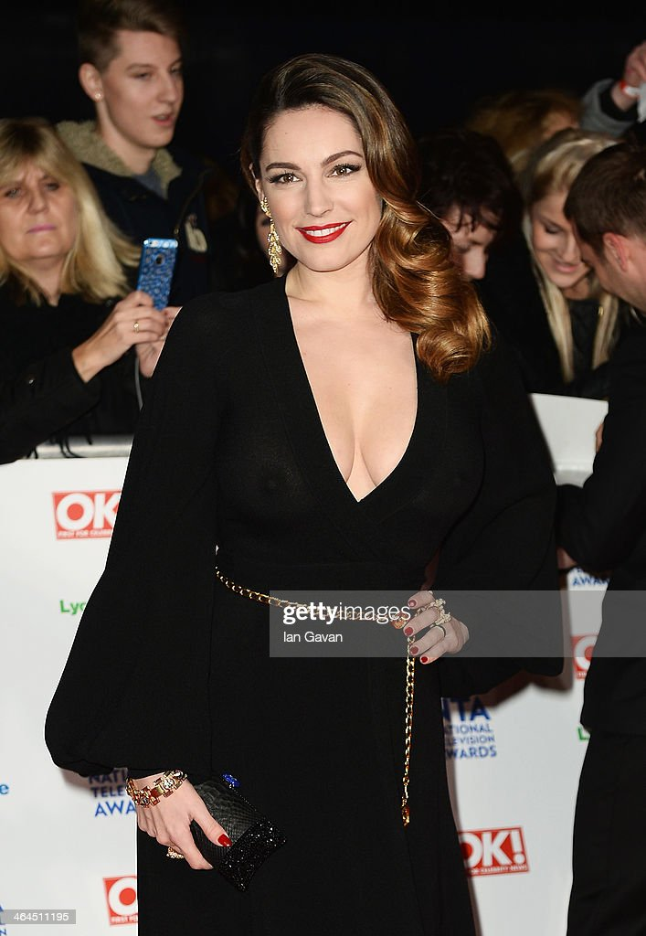 <a gi-track='captionPersonalityLinkClicked' href=/galleries/search?phrase=Kelly+Brook&family=editorial&specificpeople=206582 ng-click='$event.stopPropagation()'>Kelly Brook</a> attends the National Television Awards at 02 Arena on January 22, 2014 in London, England.
