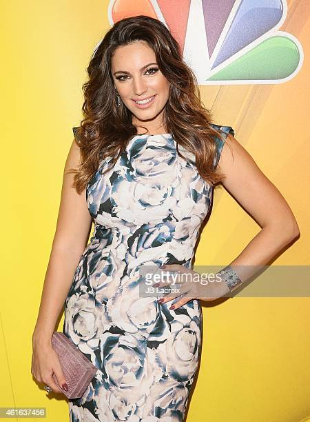 Kelly Brook attends the NBCUniversal 2015 Press Tour at the Langham Huntington Hotel on January 16 2015 in Pasadena California