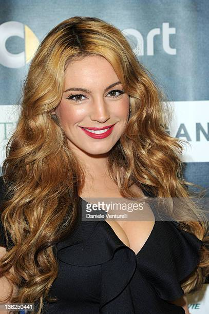 Kelly Brook attends the third day of the 16th Annual Capri Hollywood International Film Festival on December 29 2011 in Capri Italy