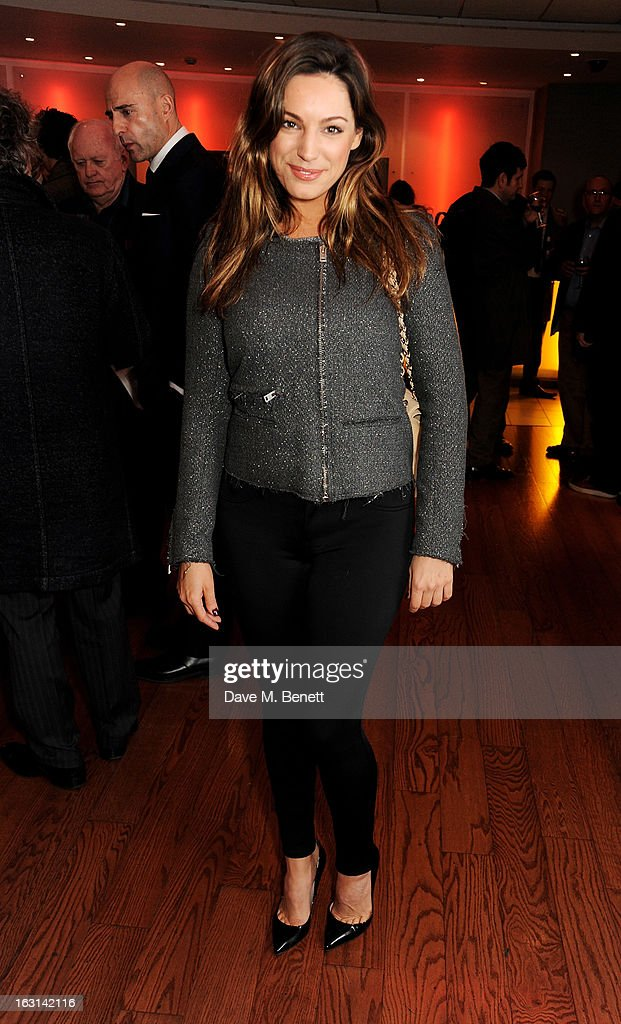 Kelly Brook attends the UK Premiere of 'Welcome To The Punch' at the Vue West End on March 5, 2013 in London, England.
