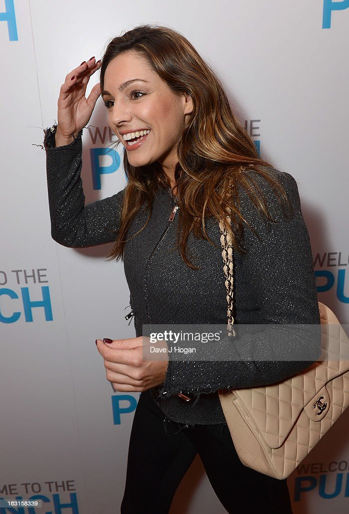 Kelly Brook attends the 'Welcome To The Punch' UK Premiere at the Vue West End on March 5, 2013 in London, England.