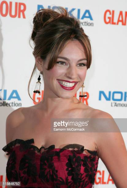 Kelly Brook during 4th Annual Glamour Women Of The Year Awards at Berkeley Square Gardens in London Great Britain