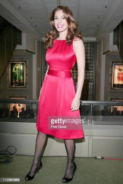 Kelly Brook during Harrods January Sale Opening and Photocall December 28 2005 at Harrods in London Great Britain