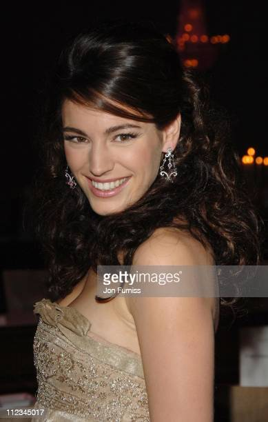 Kelly Brook during Lancome Colour Design Awards 2006 Inside at Linley Hall in London Great Britain
