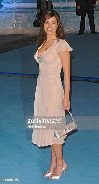 Kelly Brook during 'The Chronicles of Narnia The Lion The Witch and the Wardrobe' London Premiere at Royal Albert Hall in London Great Britain