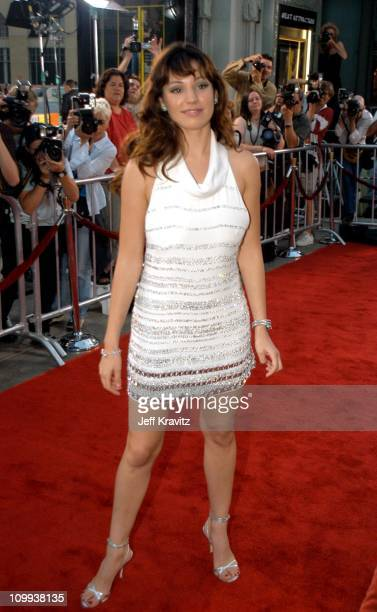 Kelly Brook during The Italian Job Premiere Red Carpet Arrivals at Mann's Chinese Theater in Hollywood California United States