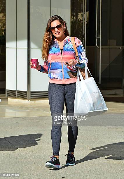 Kelly Brook is seen on March 02 2015 in Los Angeles California