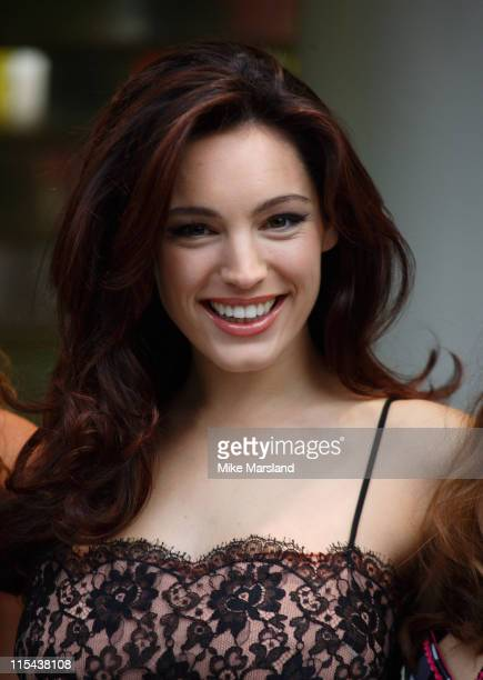Kelly Brook launches 'Kelly Brook Lingerie for New Look' at the Oxford Street Store on November 5 2007 in London