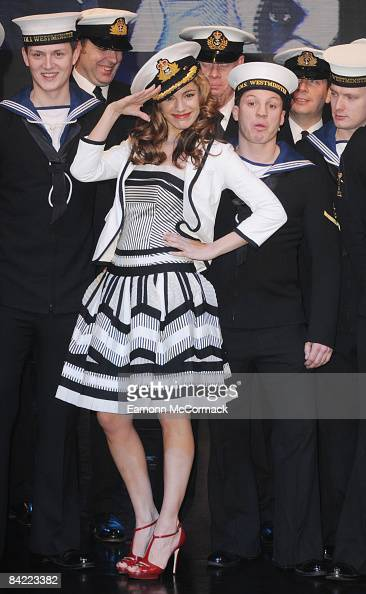 Kelly Brook opens the London Boat Show at ExCeL on January 9 2009 in London England