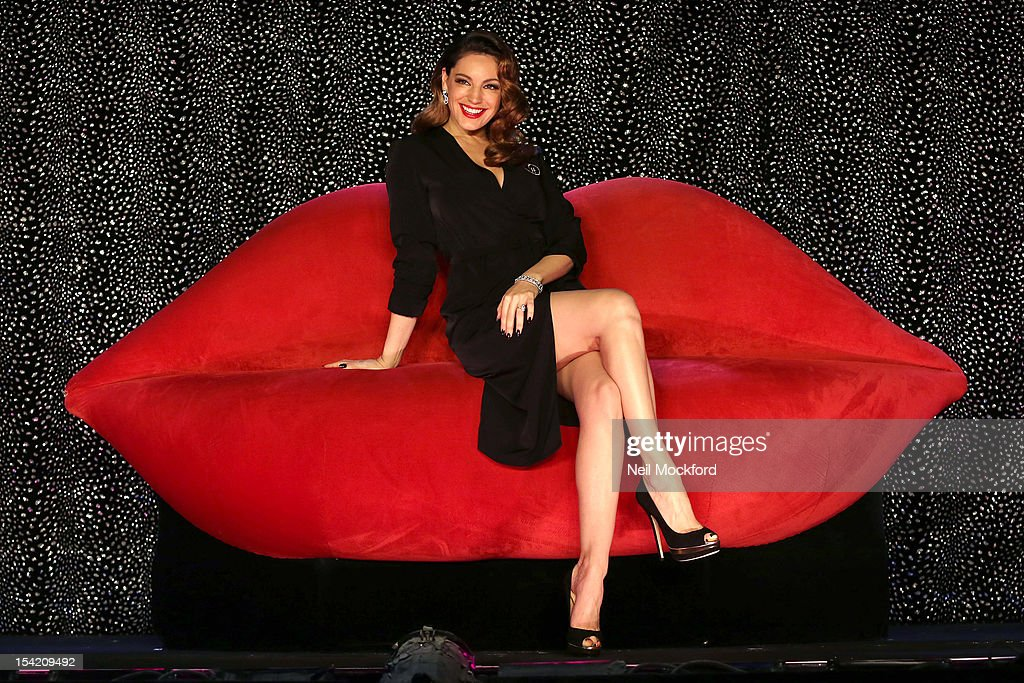 <a gi-track='captionPersonalityLinkClicked' href=/galleries/search?phrase=Kelly+Brook&family=editorial&specificpeople=206582 ng-click='$event.stopPropagation()'>Kelly Brook</a> poses at a photocall as she joins the cast of Crazy Horse at The National Theatre on October 16, 2012 in London, England.