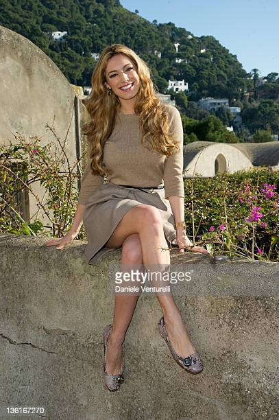 Kelly Brook poses during the second day of the 16th Annual Capri Hollywood International Film Festival on December 28 2011 in Capri Italy