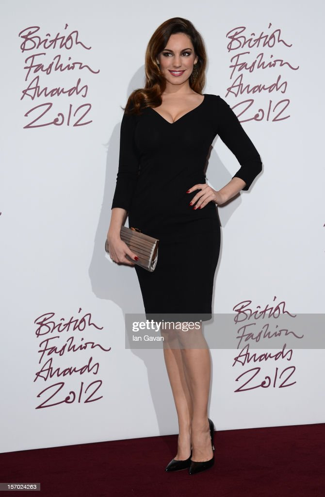 <a gi-track='captionPersonalityLinkClicked' href=/galleries/search?phrase=Kelly+Brook&family=editorial&specificpeople=206582 ng-click='$event.stopPropagation()'>Kelly Brook</a> poses in the awards room at the British Fashion Awards 2012 at The Savoy Hotel on November 27, 2012 in London, England.