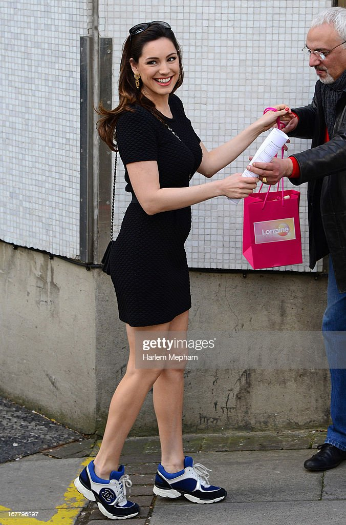 <a gi-track='captionPersonalityLinkClicked' href=/galleries/search?phrase=Kelly+Brook&family=editorial&specificpeople=206582 ng-click='$event.stopPropagation()'>Kelly Brook</a> sighted at ITV Studios on April 30, 2013 in London, England.