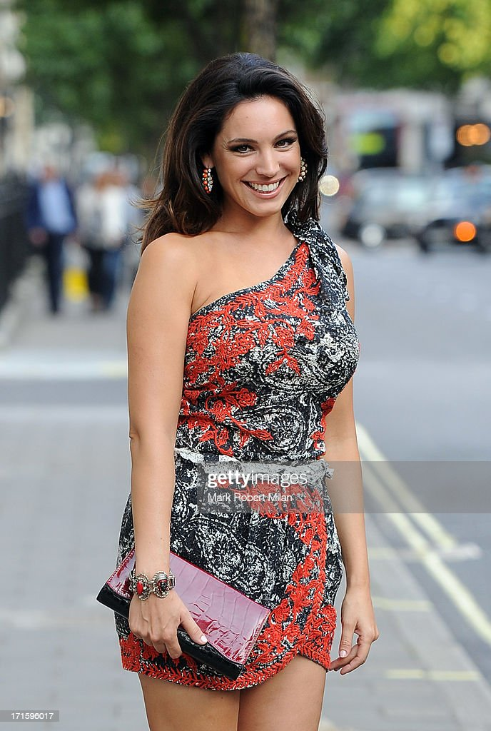 Kelly Brook sighting on June 26, 2013 in London, England.