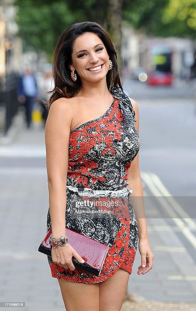 Kelly Brook sighting on June 26, 2013 in London, England.