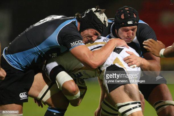 Kelly Brown and Tim Barker Glasgow Warriors