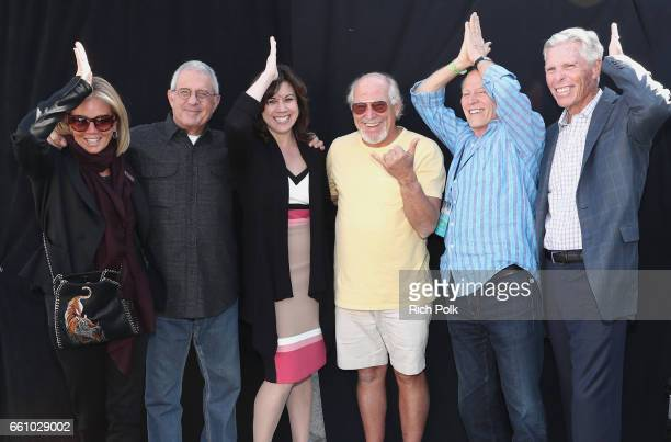 Kelly Chapman Ron Meyer Vice Chairman of NBCUniversal Karen Irwin President and COO of Universal Studios Hollywood musician Jimmy Buffett producer...