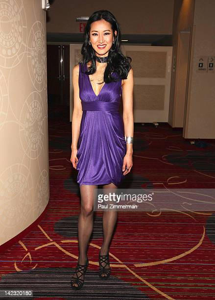 Kelly Choi attends the 55th Annual New York Emmy Awards gala at the Marriott Marquis Times Square on April 1 2012 in New York City