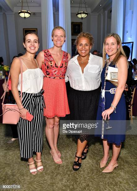 Kelly Christina NascimentoDeLuca and guests attend the Women's Sports Foundation 45th Anniversary of Title IX celebration at the NewYork Historical...