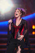 Kelly Clarkson at FOX TV's 'American Idol' broadcast live from Television City in Los Angeles Ca Tuesday July 16 2002 Photo by Kevin...
