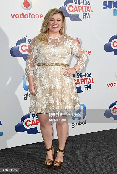 Kelly Clarkson attends the Capital FM Summertime Ball at Wembley Stadium on June 6 2015 in London England