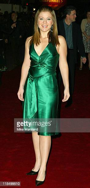 Kelly Clarkson during 'Love Actually' London Premiere Arrivals at The Odeon Leicester Square in London United Kingdom