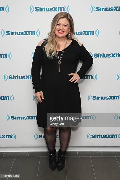 Kelly Clarkson is the first guest on Jenny McCarthy's new series 'Inner Circle' on her SiriusXM show 'The Jenny McCarthy Show' on October 5 2016 in...