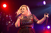 Kelly Clarkson performs on stage at GAY on February 14 2015 in London England