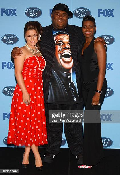 Kelly Clarkson Ruben Studdard and Fantasia Barrino