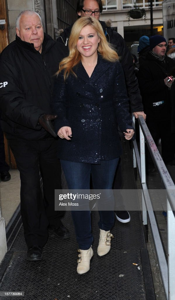 <a gi-track='captionPersonalityLinkClicked' href=/galleries/search?phrase=Kelly+Clarkson&family=editorial&specificpeople=201555 ng-click='$event.stopPropagation()'>Kelly Clarkson</a> seen at BBC Radio 1 on December 6, 2012 in London, England.