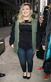 Kelly Clarkson seen at SiriusXM Studios on March 03 2015 in New York City