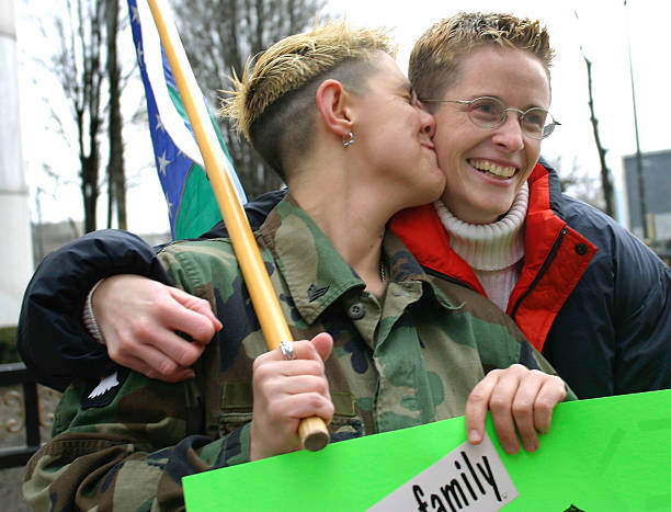 Couples Attend Gay Marriage Rally In Detroit Photos and