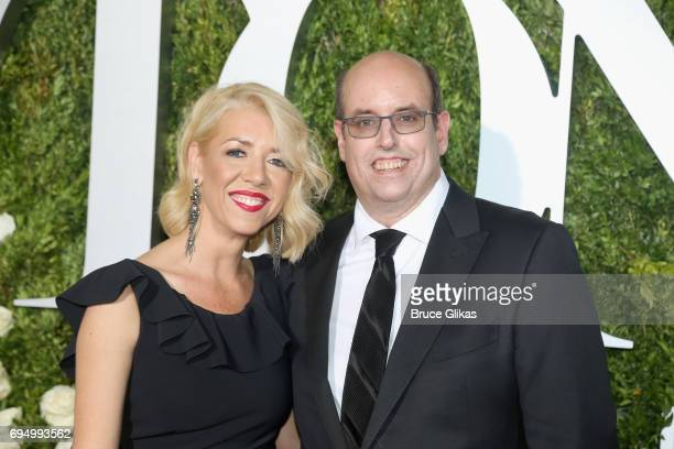 Kelly Devine and Christopher Ashley attends the 71st Annual Tony Awards at Radio City Music Hall on June 11 2017 in New York City