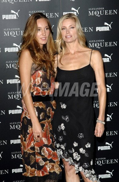 Kelly Emberg And Ruby Stewart During Alexander Mcqueen And Puma