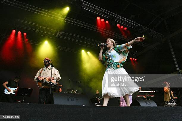 Kelly Family Band Pop music Ireland Singer Maria Patricia Kelly performing at Citadel Music Festival Berlin Germany