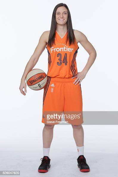 Kelly Faris of the Connecticut Sun poses for a portrait at WNBA Media Day at Mohegan Sun on April 28 2016 in Bristol Connecticut NOTE TO USER User...