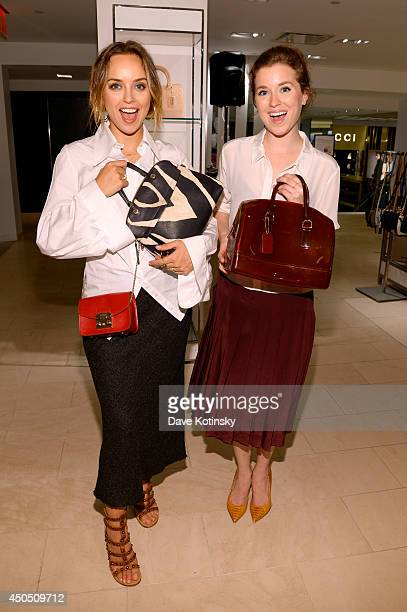 Kelly Framel and Erin Framel attend Furla X the Glamourai at Bloomingdale's 59th Street Store on June 12 2014 in New York City