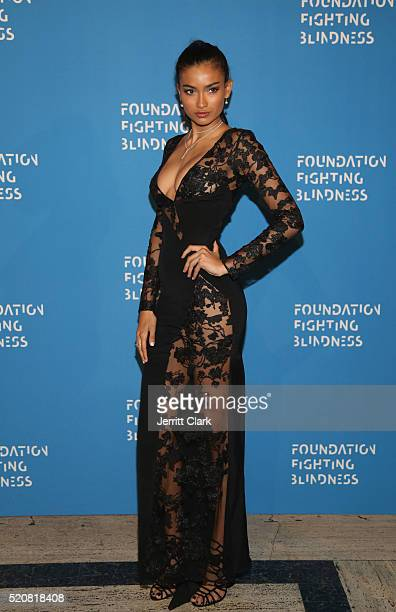 Kelly Gale attends the 2016 Foundation Fighting Blindness World Gala at Cipriani Downtown on April 12 2016 in New York City