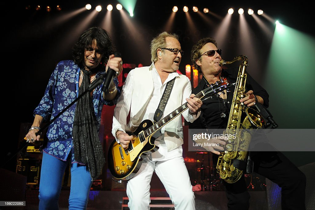 <a gi-track='captionPersonalityLinkClicked' href=/galleries/search?phrase=Kelly+Hansen&family=editorial&specificpeople=868991 ng-click='$event.stopPropagation()'>Kelly Hansen</a>, Mick Jones and Tom Gimbel of Foreigner peform at Hard Rock Live! in the Seminole Hard Rock Hotel & Casino on January 9, 2013 in Hollywood, Florida.