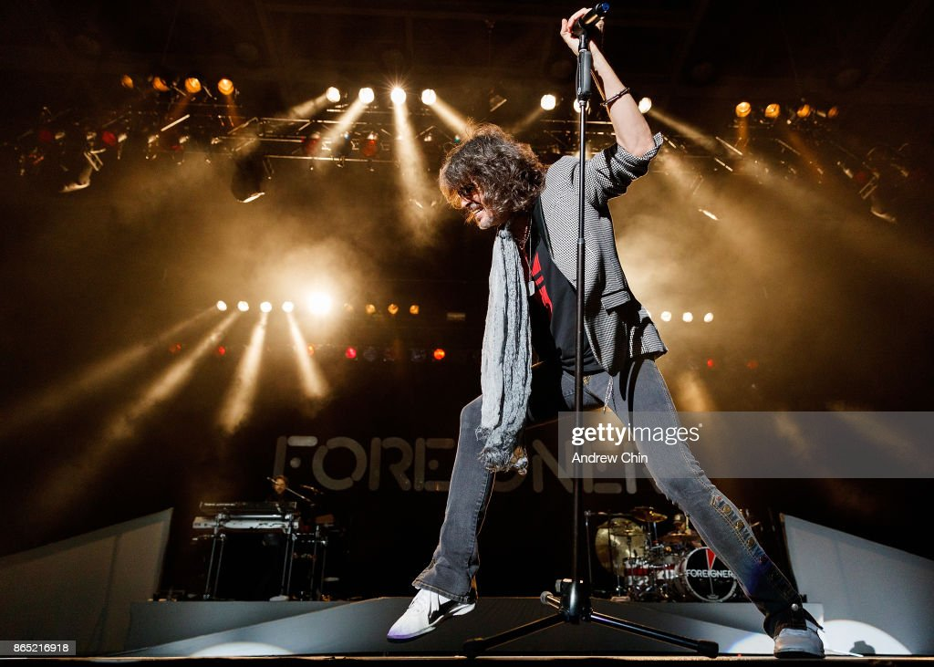 Foreigner Performs At Abbotsford Centre