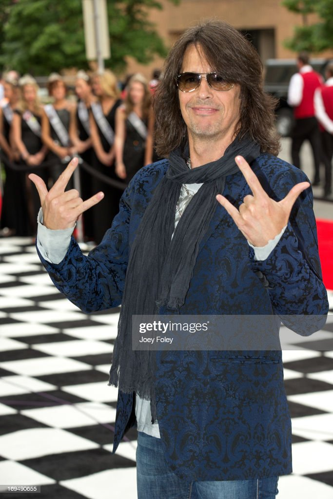 <a gi-track='captionPersonalityLinkClicked' href=/galleries/search?phrase=Kelly+Hansen&family=editorial&specificpeople=868991 ng-click='$event.stopPropagation()'>Kelly Hansen</a> of the rock band Foreigner attends the 2013 Indy 500 Snakepit Ball at Indiana Roof Ballroom on May 25, 2013 in Indianapolis, Indiana.