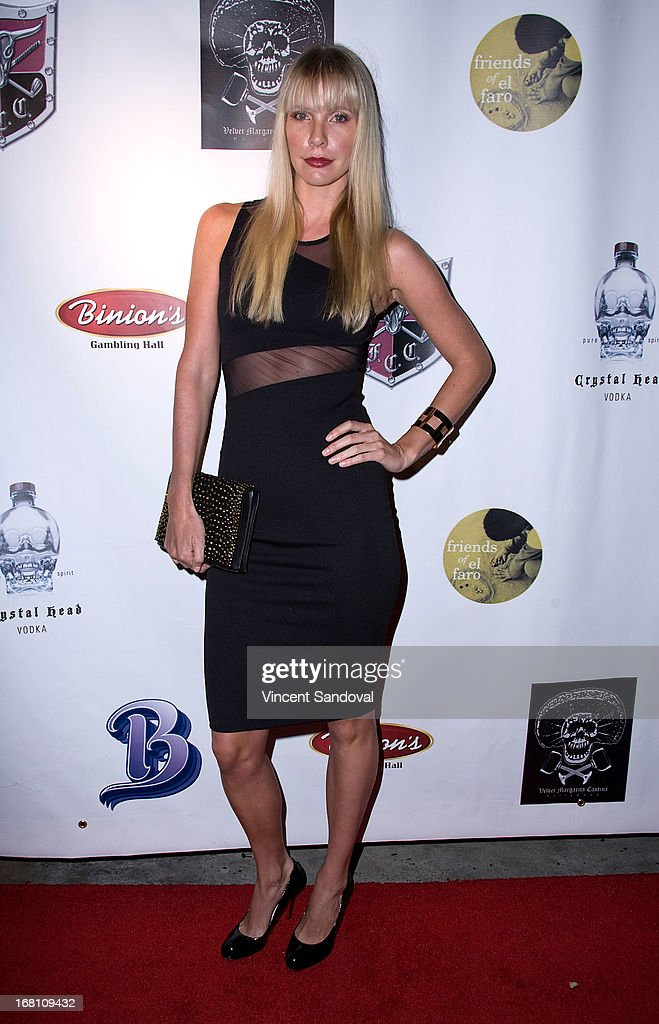 Kelly Harper attends the 10th annual anniversary and Cinco De Mayo benefit with annual Charity Celebrity Poker Tournament at Velvet Margarita on May 4, 2013 in Hollywood, California.