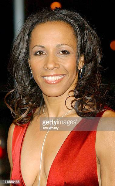 Kelly Holmes during 2005 BBC Sports Personality of the Year at BBC Television Centre in London Great Britain