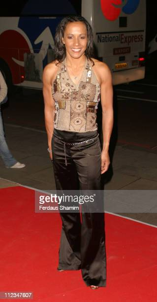 Kelly Holmes during 2005 Children's Champions Awards at Grosvenor House Hotel in London Great Britain