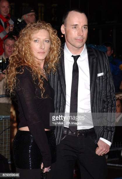 Kelly Hoppen and David Furnish arrive for the world charity premiere of Alfie at the Empire Leicester Square in central London in aid of MakeAWish...