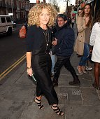 Kelly Hoppen attending The Ivy Chelsea Garden Launch Party on April 14 2015 in London England